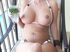 Sexy babe in their bikinis trading photos