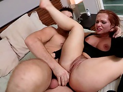 Katja Kassin gets rough fucked and ass to mouth punishment