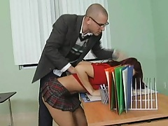 Substitute teacher becomes substitute cock