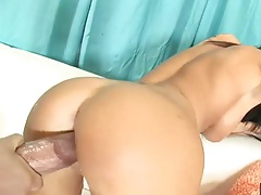 Doggy style and facial with Cody Lane taking all on her face bukkake