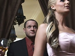 Real wife offers husband swapping at a party