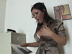 Hot babe sends a photocopy of her ass