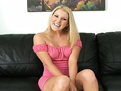 Ashley comes over for  first time audition