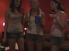 Real slut party beginning