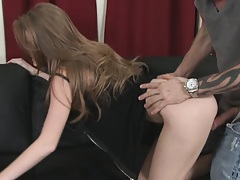 Slut gets fucked for not letting him watch football