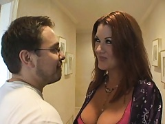 Hot milf wakes a guy up