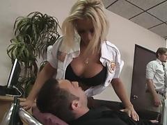 Rachel Starr does a little medical help