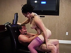 Milf pounded and smashed on the floor