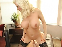 MIlf rides cock so hard that Johny balls are about to fall off