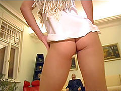 British blonde rasta jizzed on her hairy muff