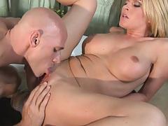 Krissy Lynn has amaizing big tits and a smooth pussy