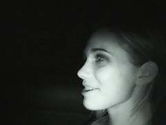 Dakota getting filmed sucking with night vision