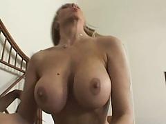 Hot mom takes her daughters big black dick boyfriend