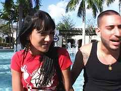Hot Puerto Rican skank wiht a great ass