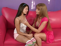 Darla Crane and Shyla Jennings is a mature cougar and young teen lesbian
