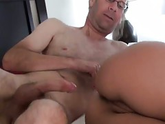 Anal sideways fucking Jynx Maze by old guy