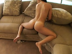 Home video of a nasty girlfriend fucking