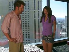 Teens like it big with Alyssa in her short teen skirt