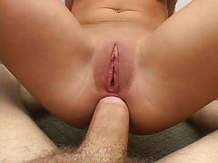 Nice anal cowgirl pov penetration with Ariana Jollee then ass to mouth
