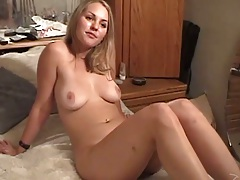 First sex video with college Carrina