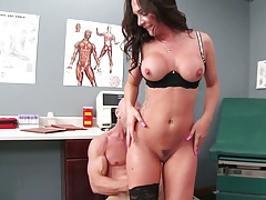 Healthy doctor fuck with busty Destiny Dixon in her office