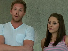 Teens like it big with Gracie and Johnny Sins