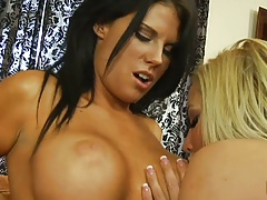 Blonde and brunette whopper lesbian milfs mature and horny with Charisma Capelli and Lexxi Tyler