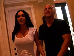 Jessica Jaymes a milf with big pierced nipples