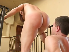 Nice ass licking and doggy style pov anal fuck for Katja Kassin