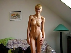 Bianca comes in for first sex video and ends up with anal