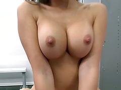 Katsuni sittin gon cock in the locker room