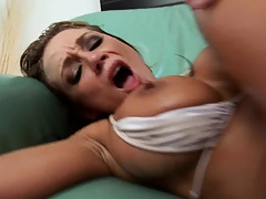 Nikki getting full anal entrance and facial