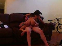 Webcam hack of girlfriend fucking bf
