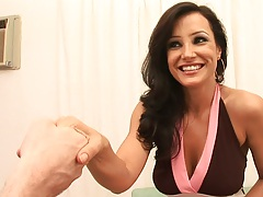Freaks of cock Lisa Ann sitting down