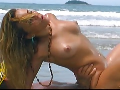 Graziella Gucci getting fucked on romantic booty island