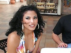Sofia and Kimberly sexy latinas having a chat