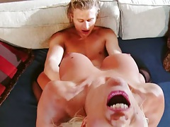Cowgirl screaming milf fuck with anal sex for milf Puma Swede