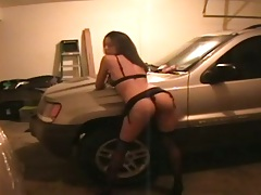 Home video garage sex tape