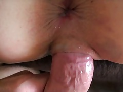 Doggy style pov sex with Cara Swank giving a close up anus view