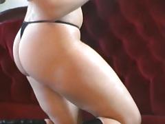 Solo Nikki Lauren masturbation and undressing