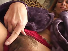 Hairy mature vagina Mikela Kennedy getting pussy licked
