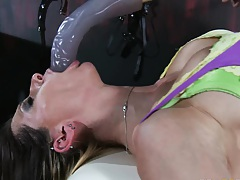 big tits rachel gets fingered and tortured