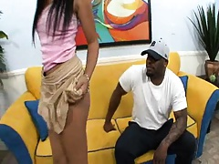 Rhianna is a happy black cock customer
