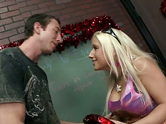Big tits at school with Veronica the bad ass teacher