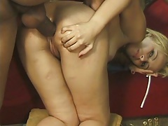 Anal doggy style with ass spreading from latina Camila