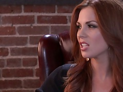 Redhead Jayden Jaymes needs help from marriage counselor