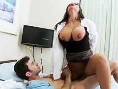 Hardcore fucking nurse Mason in the hospital