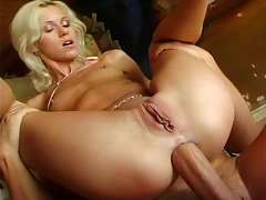 Cora Carina reverse cowgirl rough anal with sex on yoga ball